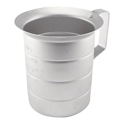 Update International 2 Qt Measuring Cup, Aluminum (AMEA-20) 2476039