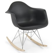 Belleze Rocking Chair; Black