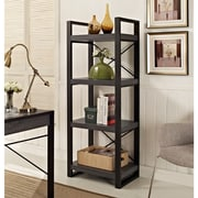 """Walker Edison Angelo Home 62"""" Charcoal Media Tower (W62CGMTCL)"""