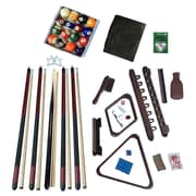 Hathaway Deluxe Billiards Accessory Kit Mahogany Finish (BG2540M)