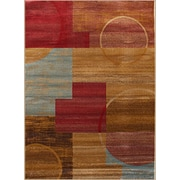 Rug and Decor Inc. Gulistan Power Loomed Teracotta Area Rug; 2' x 3'