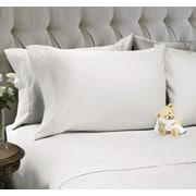 Snuggle 4 Piece Sheet Set; Bright White