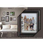 NielsenBainbridge Gallery Solutions 7 Piece Picture Frame Set; Bronze