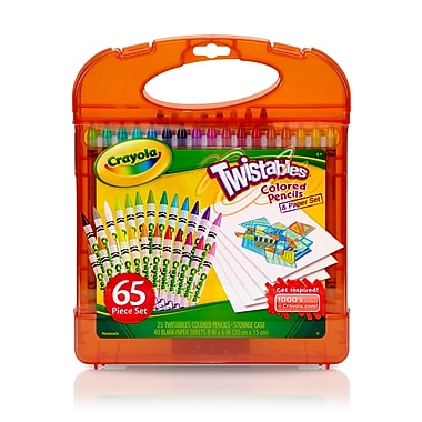 Crayola Twistable Colored Pencils Paper Set Price Tracking