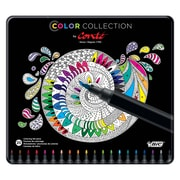Color Collection by Conte Coloring Felt Pens, Assorted, 20-count