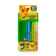 Crayola Dynamic Duos Marker Set, 20-count (04-6829)