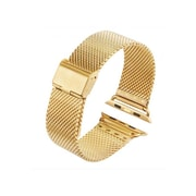 iPM Stainless Steel Mesh Milanese Loop Band for Apple Watch AWMILS002-42-Gold (AWMILS00242GLD)