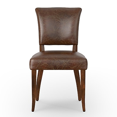 Design Tree Home Larkin Mimi Side Chair; Cigar WYF078279509219
