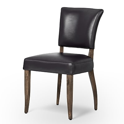 Design Tree Home Larkin Mimi Side Chair; Old Saddle Black WYF078279509220
