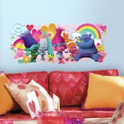 Room Mates Trolls Movie Peel and Stick Giant Wall Decal