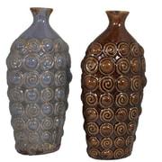 Essential Decor & Beyond Ceramic Vase (Set of 2)