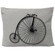 Essential Decor & Beyond Bicycle Lumbar Pillow