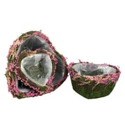 Essential Decor & Beyond 3 Piece Heart Shape Basket Set