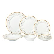 Lorren Home Trends La Luna 28 Piece Dinnerware Set