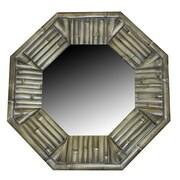 Essential Decor & Beyond Wood Garden Mirror
