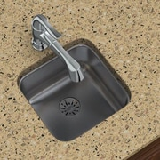 Elkay Gourmet 14.5'' x 14.5'' Stainless Steel Single Bowl Undermount Kitchen Sink