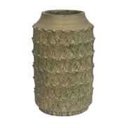 Essential Decor & Beyond Cement Pot Planter; 19'' H x 11'' W x 11'' D