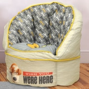 Idea Nuova Character Toddler Kids Bean Bag Chair in Secret Life of Pets