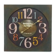 Essential Decor & Beyond Antiquite de Paris Metal Clock