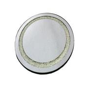 Essential Decor & Beyond Round Mirror; 13.75 '' H x 13.75'' W x 0.25'' D