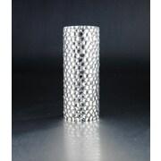 Diamond Star Glass Vase; 12'' H x 4.5'' W x 4.5'' D