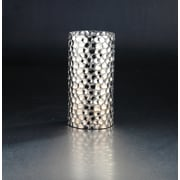 Diamond Star Glass Vase; 9.5'' H x 4.5'' W x 4.5'' D