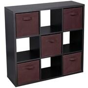 Merax 9 Cube Multipurpose Storage Shelves Cabinet Organizer