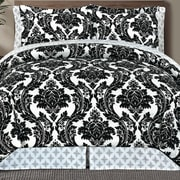 Manhattan Heights Adrielli Damask 8 Piece Bed in a Bag; Queen