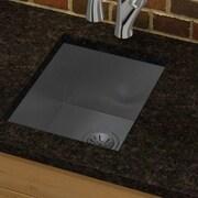 Elkay Avado 16.5'' x 20.5'' Stainless Steel Single Bowl Undermount Kitchen Sink