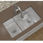 Elkay Avado 33'' x 18.5'' Stainless Steel Double Bowl Undermount Kitchen Sink