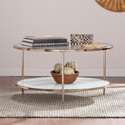 SEI Risa Cocktail Table - Gold (CK0430)