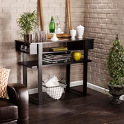 SEI Holly & Martin Cloke Console Table - Black (CK7793)
