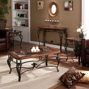 SEI Prentice Table Collection - Black - 4 Piece Set(GP0024)