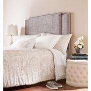 SEI Gradison Expandable Upholstered Headboard - Gray(HF0135)