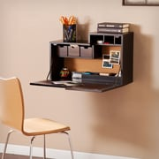 SEI Dover Wall Mount Desk - Black (HO6103)