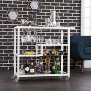 SEI Holly & Martin Zephs Bar Cart - White (HZ8818)