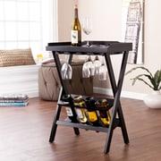 SEI Holly & Martin Acorra Wine Table - Black (OC0369)