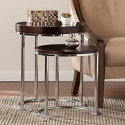 SEI Lexie Nesting Tables - Espresso - 2 Piece Set (OC1516)