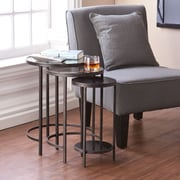 SEI Holly & Martin Ocelle 3 Piece Nesting Tables - Black (OC9810)