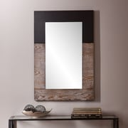 SEI Holly & Martin Wagars Mirror - Burnt Oak/Black (WS4691)