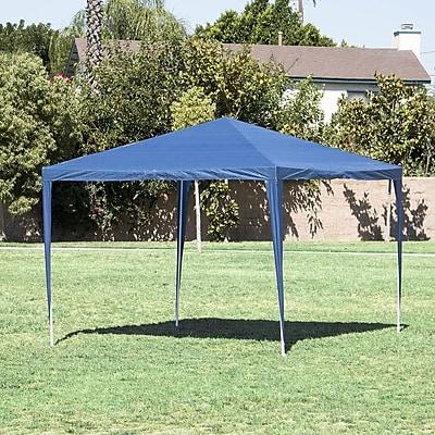 Belleze 10 Ft. W x 10 Ft. D Canopy; Blue WYF078279514498