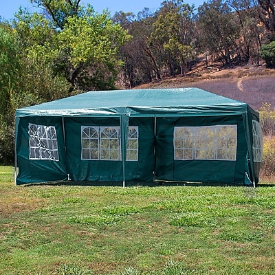 Belleze 10 Ft. W x 20 Ft. D Canopy; Green WYF078279514502