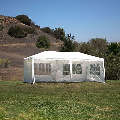 Belleze 10 Ft. W x 20 Ft. D Canopy; White WYF078279514503
