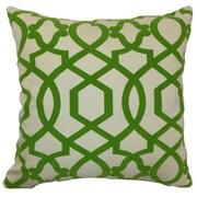 The Pillow Collection Maeret Moorish Tile Cotton Throw Pillow; 22'' x 22''