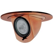 ElcoLighting Low Voltage Baffle 4'' Recessed Trim; Copper