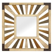 Stratton Home Decor Gigi Wood Mirror