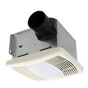 Cyclone HushTone 110 CFM Energy Star Bathroom Fan w/ Light