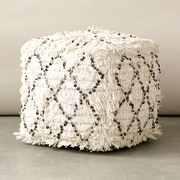 Creative Co-Op Moroccan Wedding Quilt Ottoman