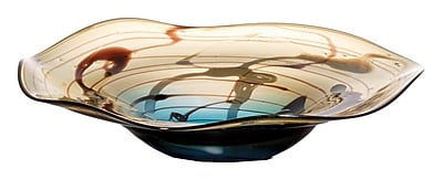 OK Lighting Tranquil Glass Fruit Bowl WYF078279526997