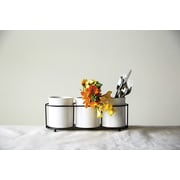 Creative Co-Op Gatherings 4 Piece Dolomite Crock Set